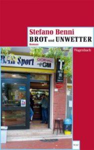 Buchcover Stefano Benni: Brot und Unwetter